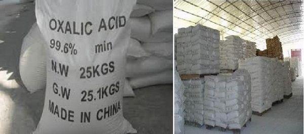 Axit oxalic có ứng dụng rộng rãi trong đời sống
