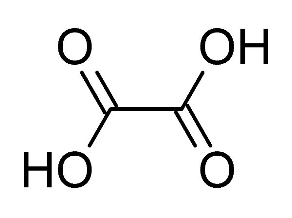 Công thức hóa học Axit oxalic