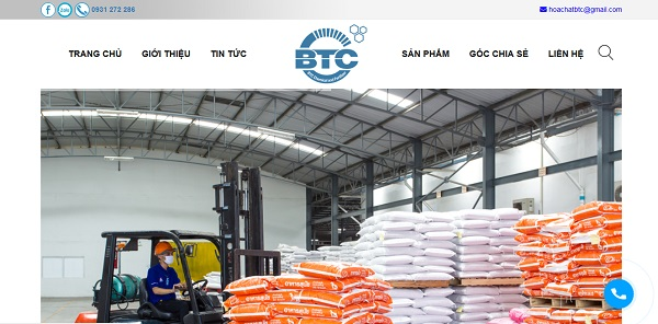 Công ty TNHH Phân bón và hóa chất BTC