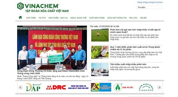 Vinachem - Công ty hóa chất hàng đầu Việt Nam