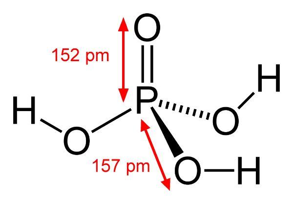 Công thức hóa học của Ait phosphoric